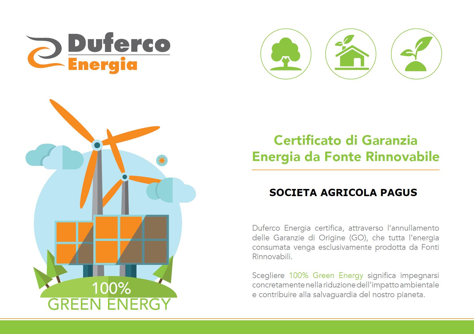 Logo Duferco energia sostenibile
